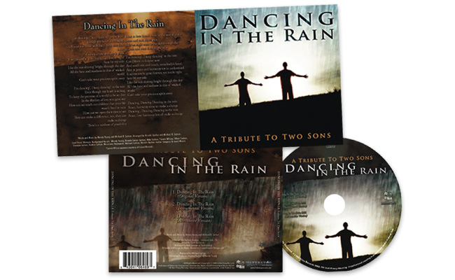 Dancing In The Rain: Cd-packaging