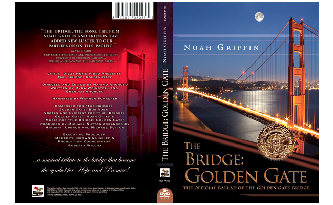 Golden Gate Bridge: DVD packaginbg