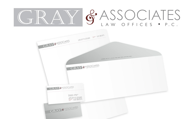 Grey & Associates: Logo design