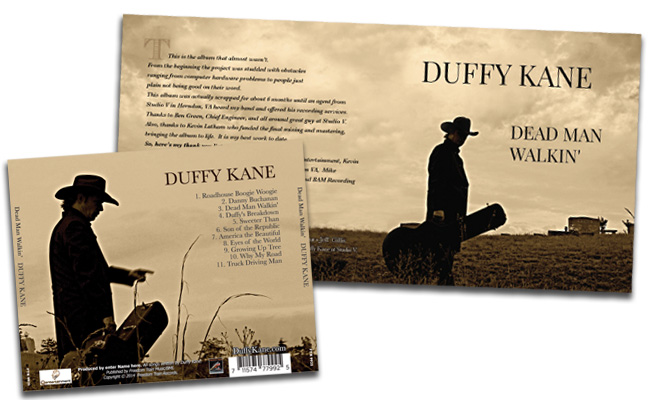 Duffy Kane: album design