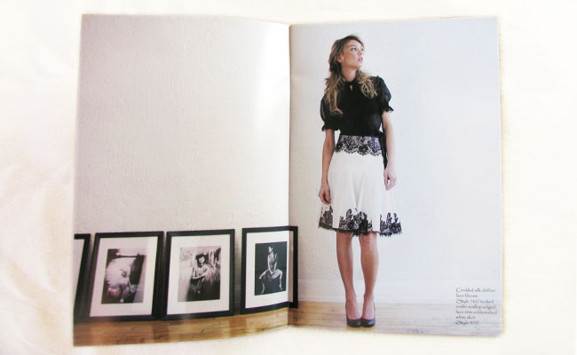 Lapis: fashion collection catalog