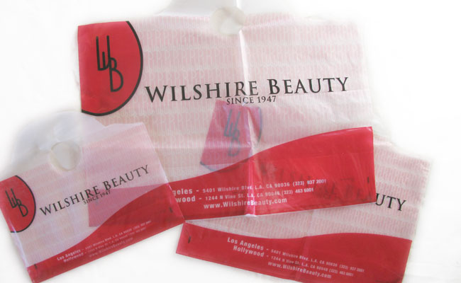 Wilshire Beauty: retail store corporate identity